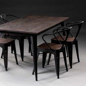Rustika 2 Rustika, blagovaonski stol 160x80