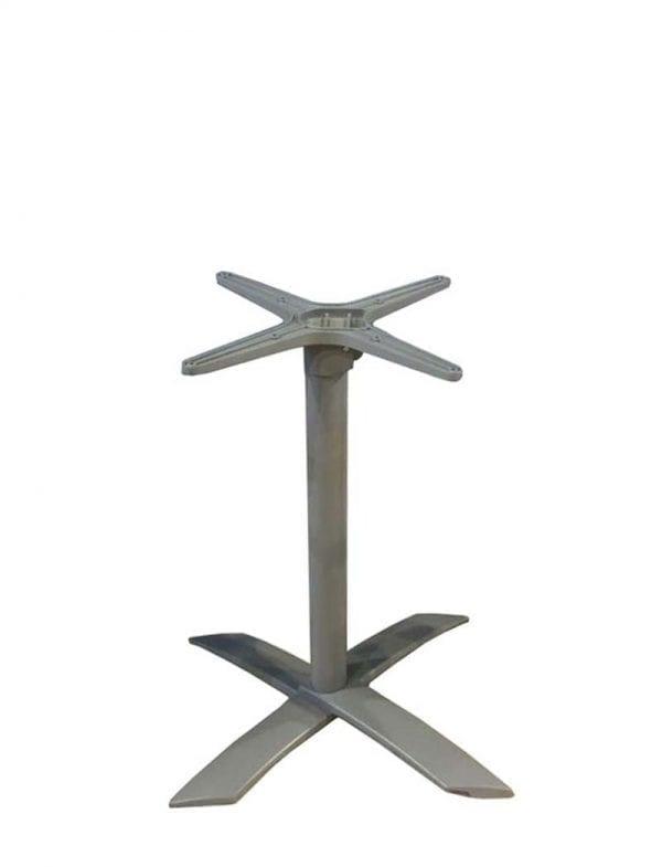 postolje 4kraka alu Postolje za stol, 4 kraka, preklopno