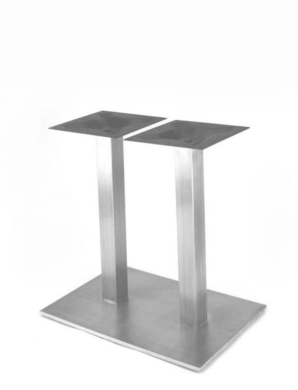 postolje inox duplo Postolje za stol, duplo inox