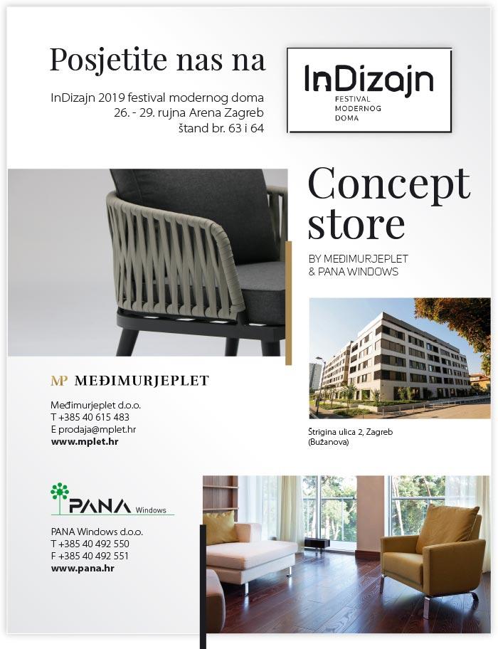 ePozivnica 1 Concept store by Međimurjeplet i Pana na InDizajnu u Areni Zagreb