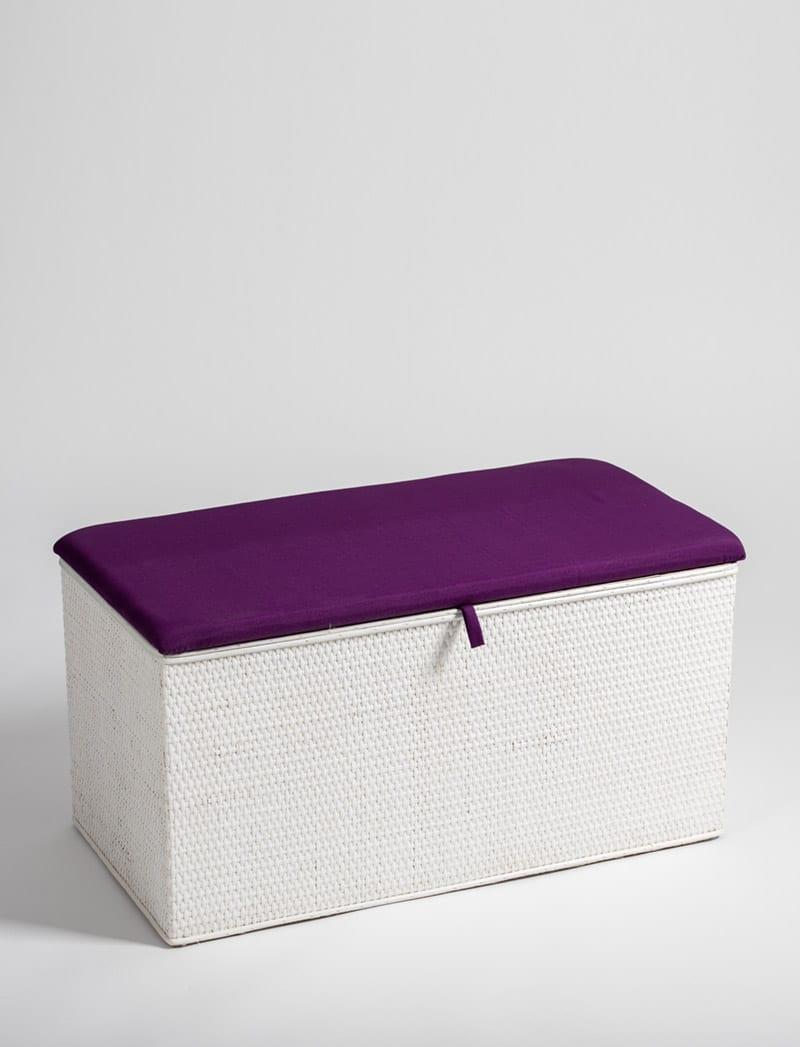 skrinja bijela ljubicasta 1 Linda, škrinja za rublje