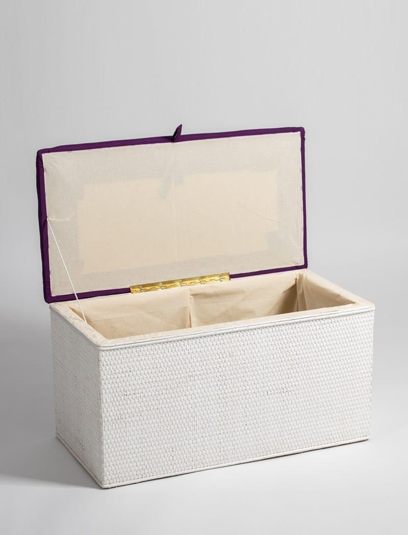 skrinja linda bijela ljubicasta 2 Linda, škrinja za rublje