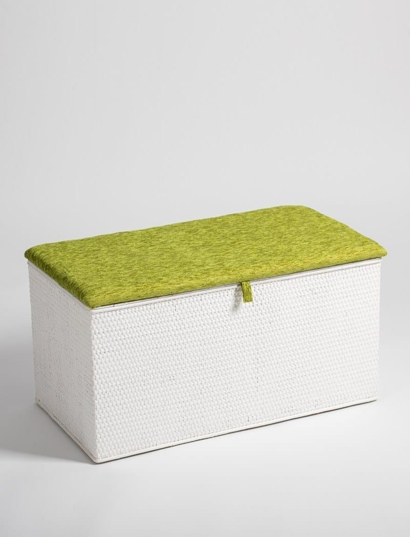 skrinja linda bijela zelena 1 Linda, škrinja za rublje
