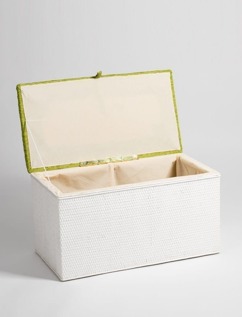skrinja linda bijela zelena 2 Linda, škrinja za rublje