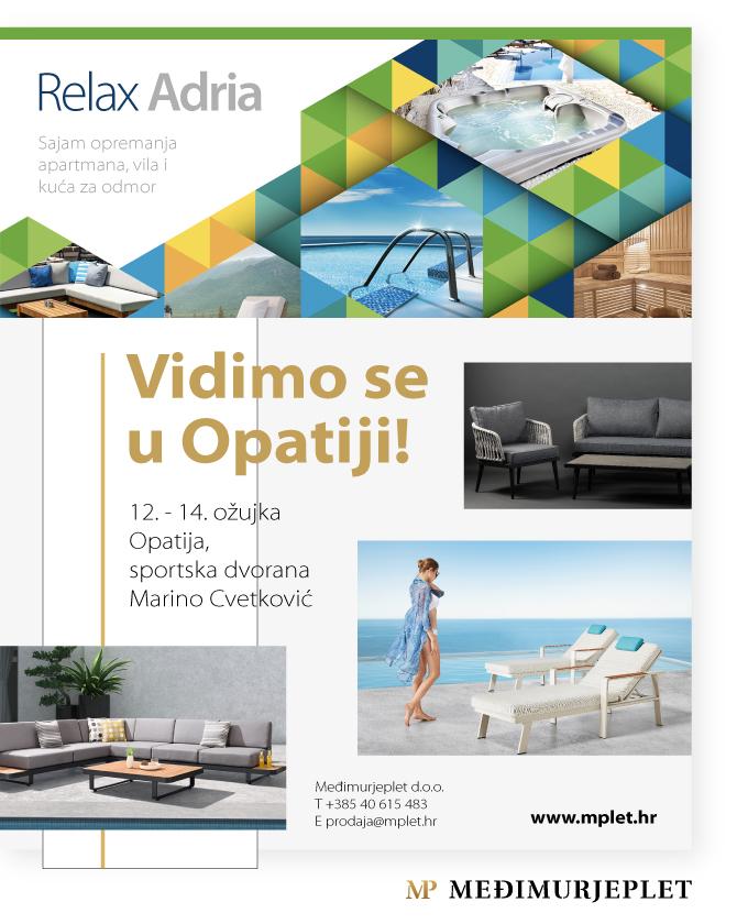 ePozivnica 2 Relax Adria Opatija - ODGOĐENO!