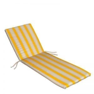 zuto siva Jastuk za ležaljku Sunce