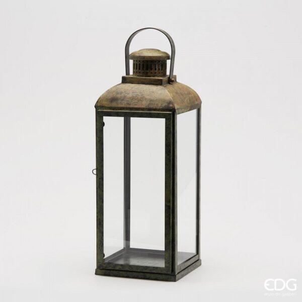 lanterna brass quadr 601630 Lanterna Brass
