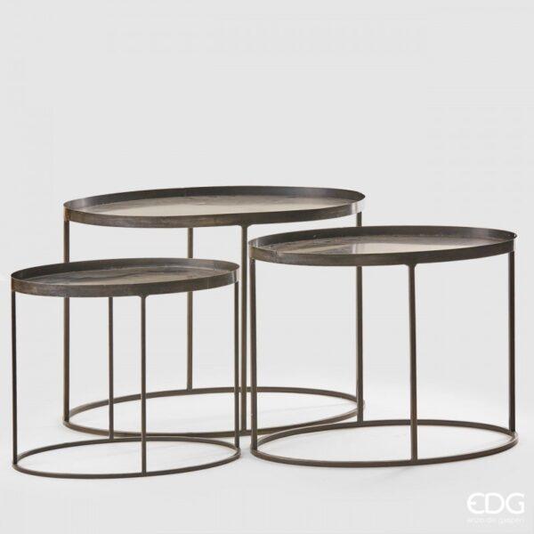 stolic oval 740476 Stolić oval set/3